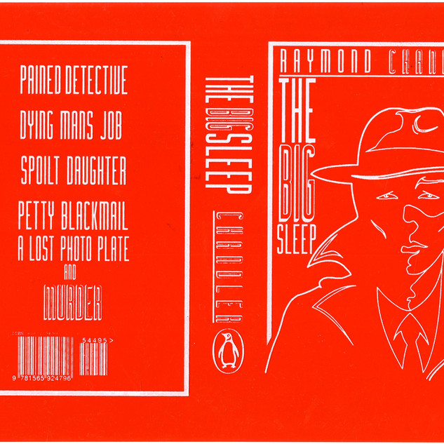 Book cover red sleeve