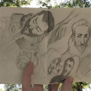 Sketches in Toledo