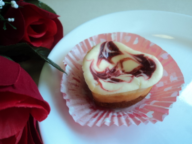 Valentine Cheesecake Heart