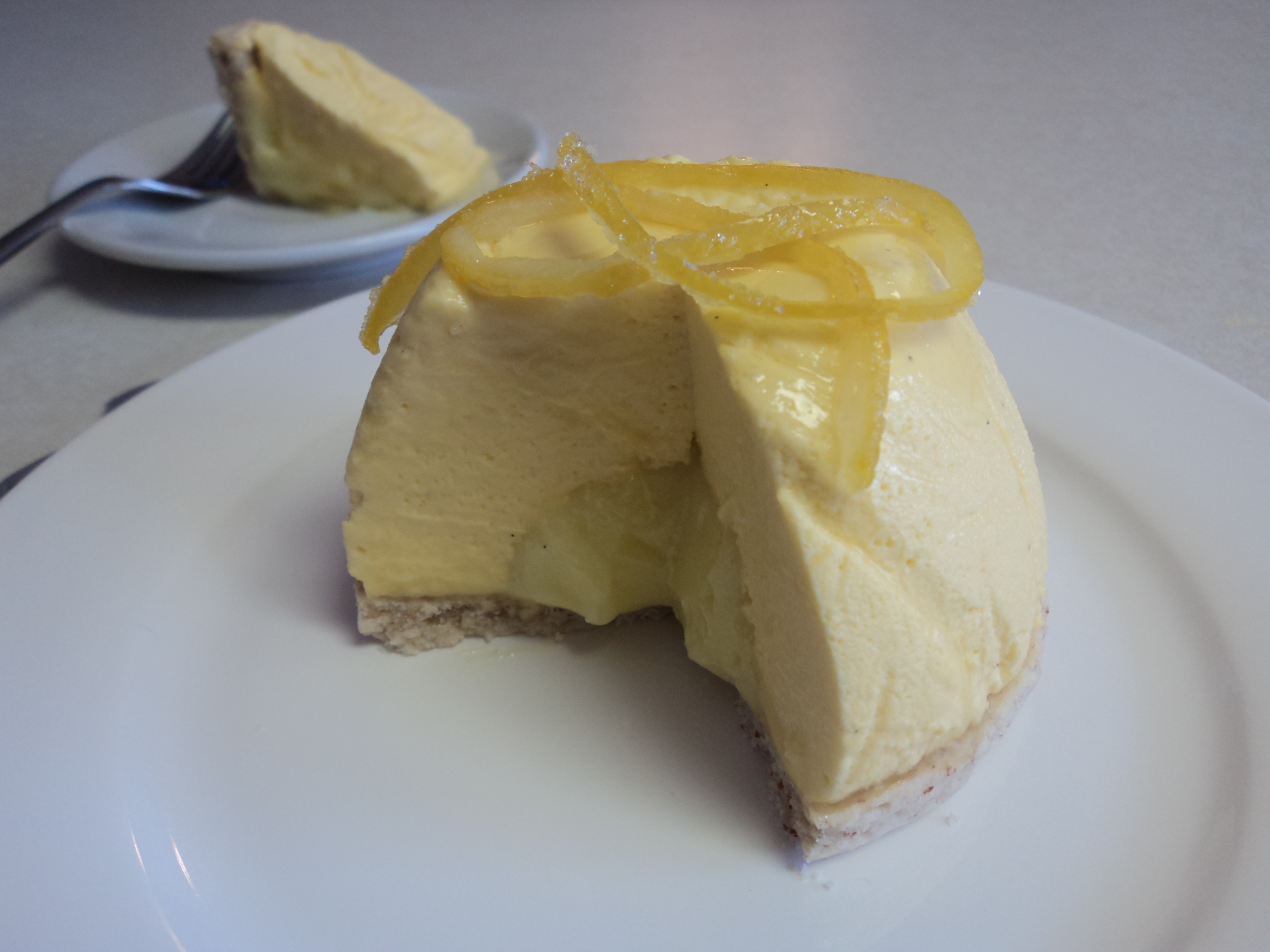 SCENTED LEMON-VANILLA BEAN MOUSSE