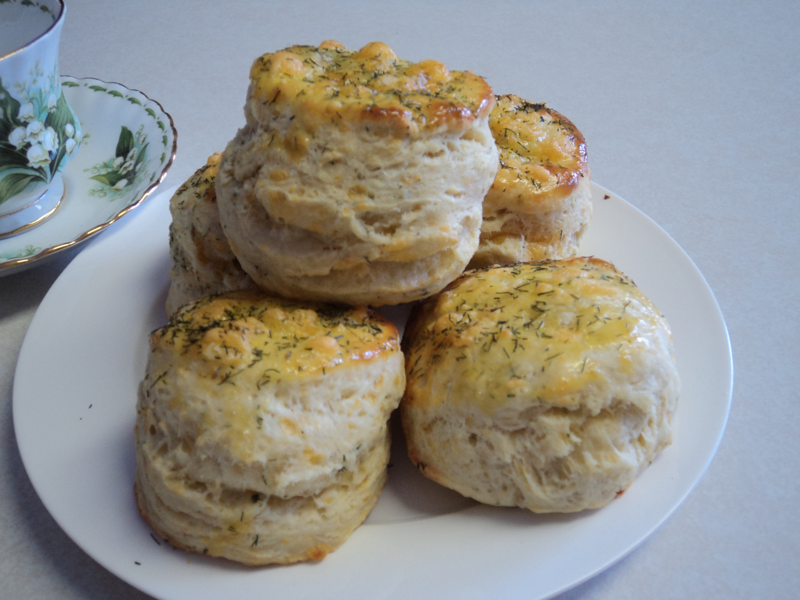 DILL & CHEDDAR BISCUITS
