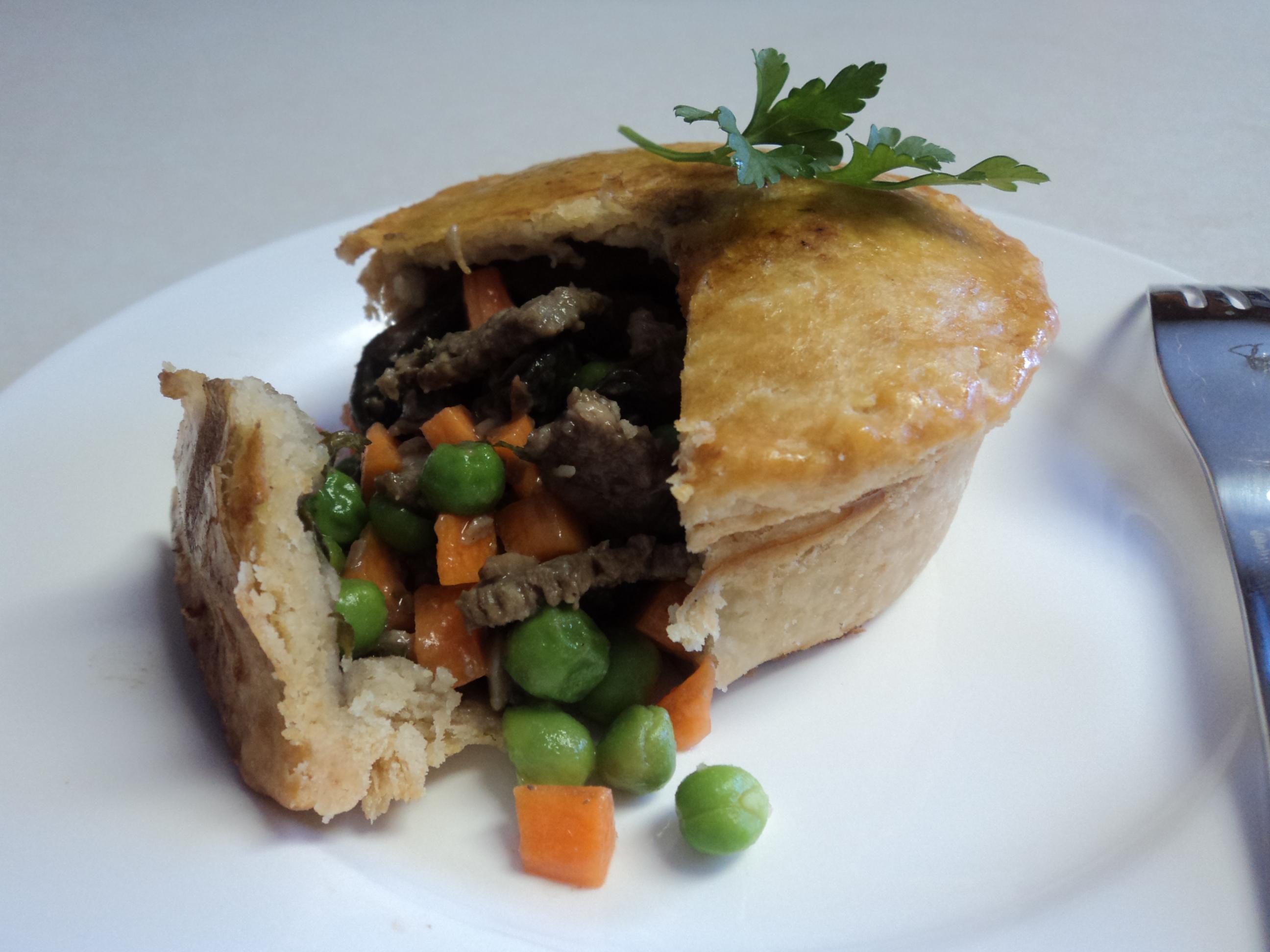 Beef & Vegetable Pot Pie