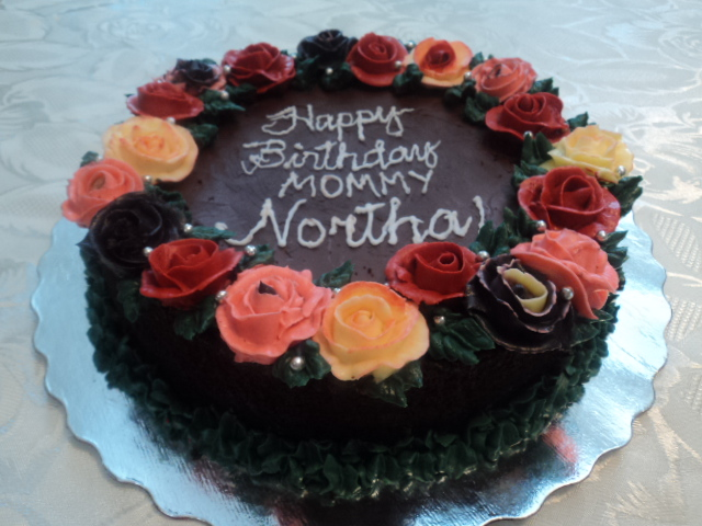Chocolate Garden Cake