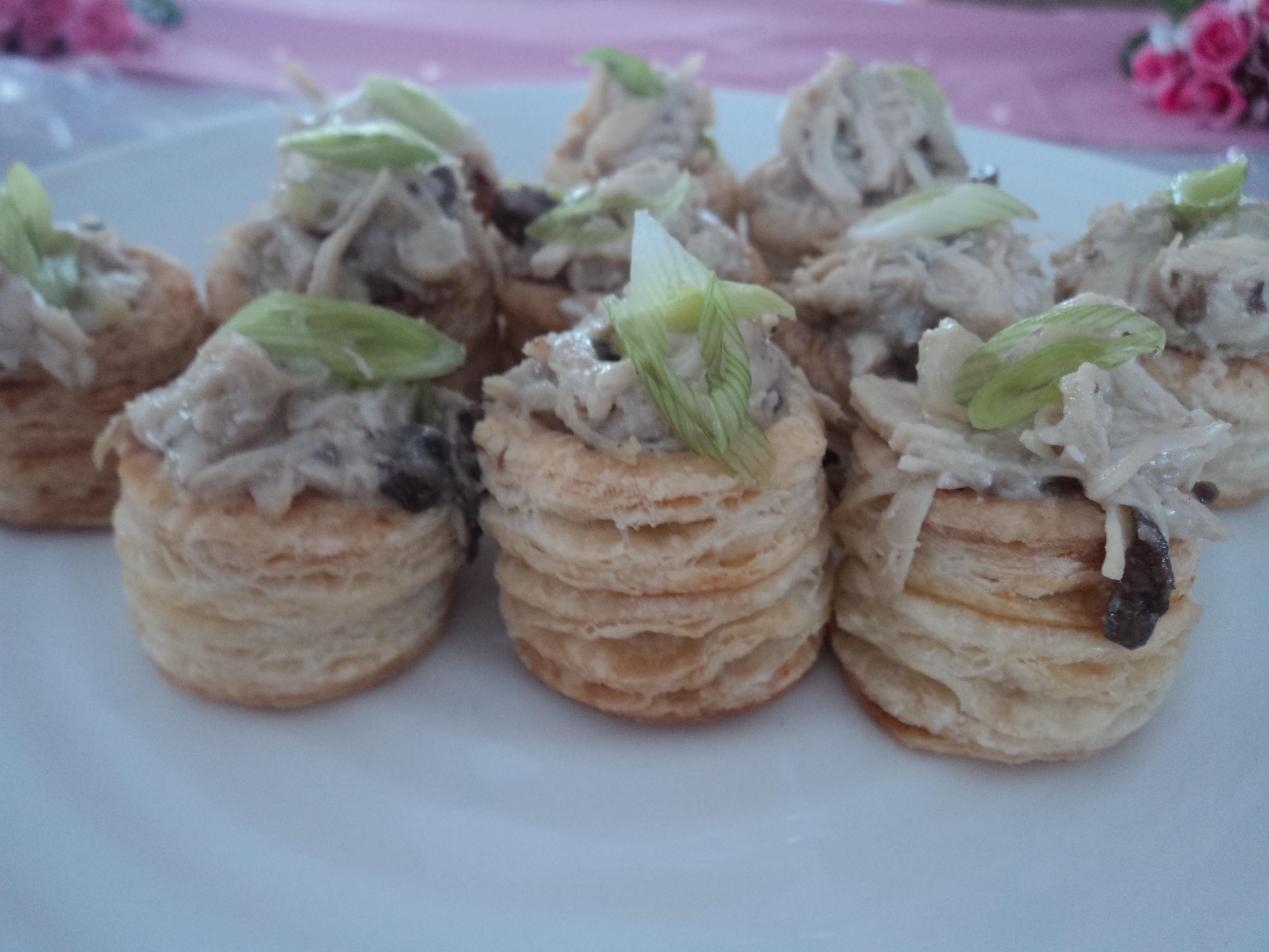 Chicken, Mushroom & Leek Puff Pastry