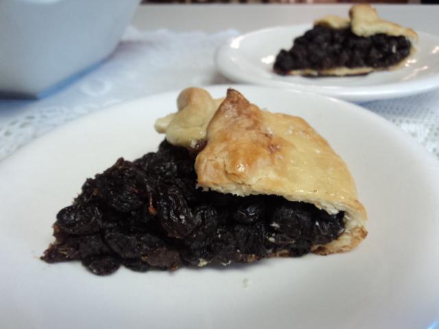 Rum & Raisin Pie
