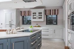 Hand painted kitchen A13