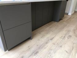 SieMatic S2-SLS : Sterling grey velvet matt, Stone grey velvet matt