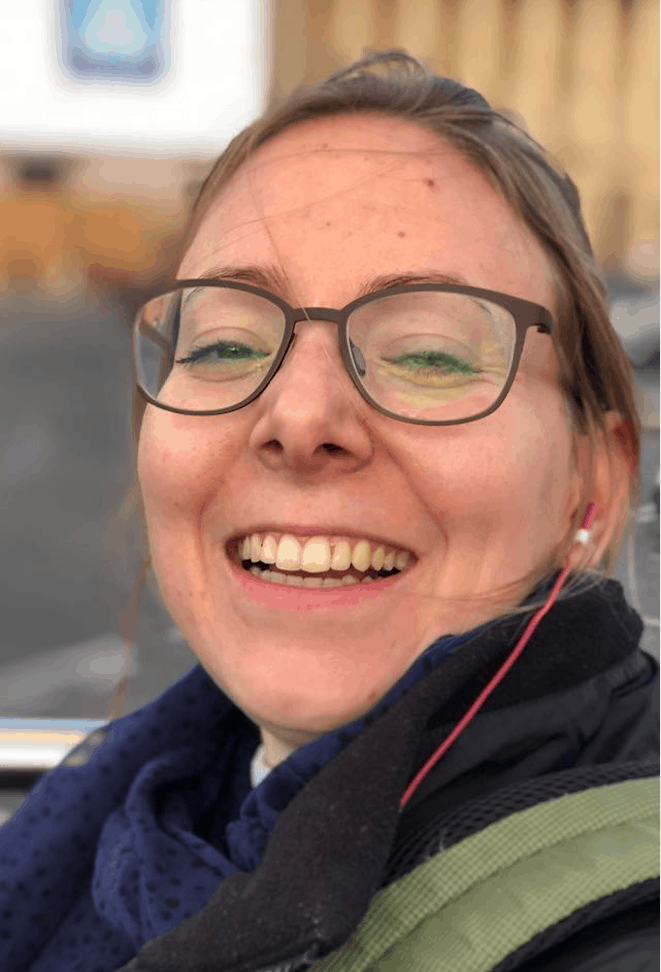 Angela Kneuss, COO Schuhbus GmbH