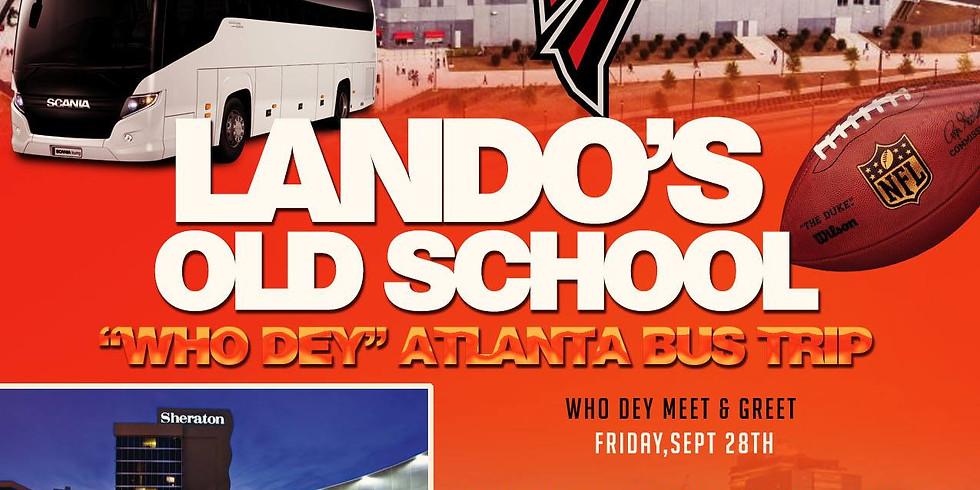 WHO DEY ATLANTA BUS TRIP