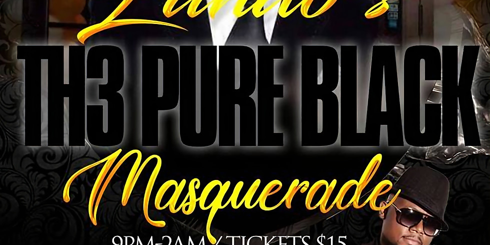 LANDO'S PURE BLACK PARTY 2018