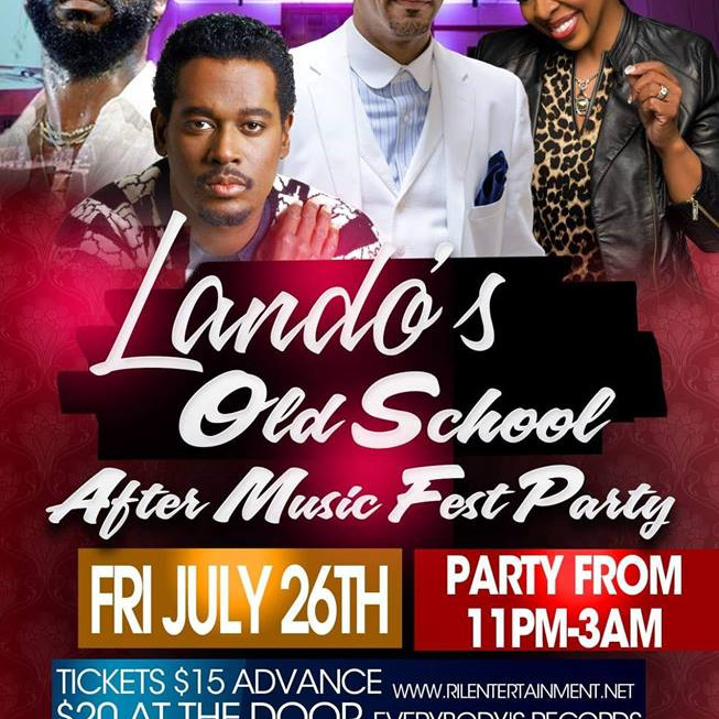 Old School Cincinnati Music Fest After Party hosted by Lando Friday