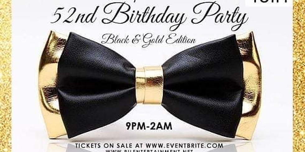 Lando's 52nd Black & Gold Birthday Party