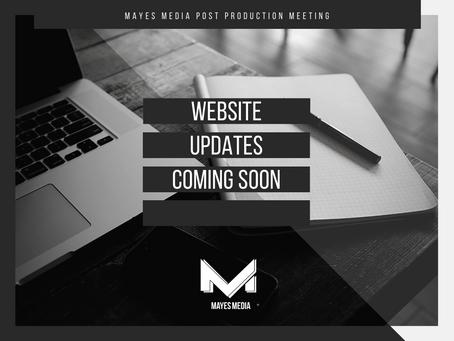 Website Update!