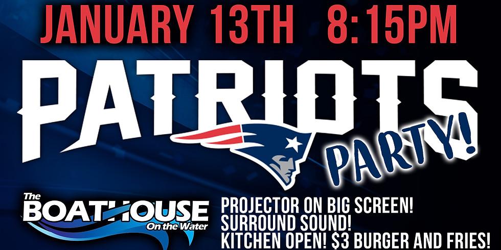 Patriots Party!