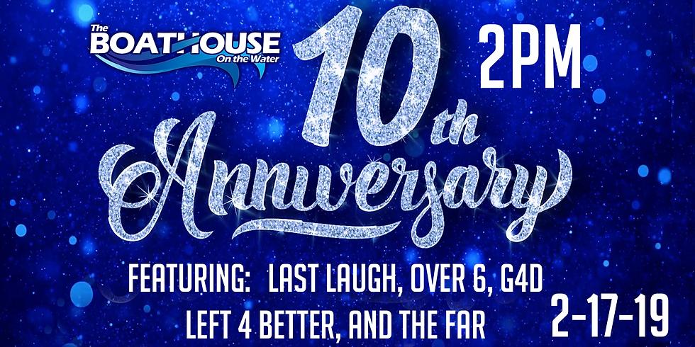 10 YEAR ANNIVERSARY BASH!