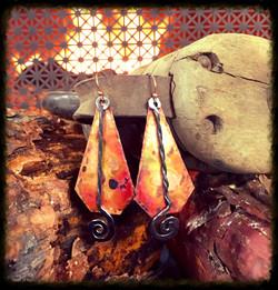 Copper & Steel | Earrings