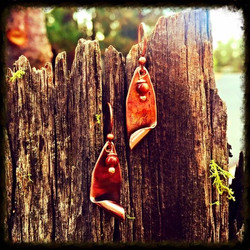 Bead | Copper | Earrings
