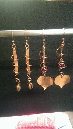 Twisted Love | Copper | Earrings