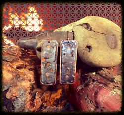 Model T Steel & Copper | Earrings