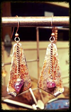 Beads | Steel | Earrings