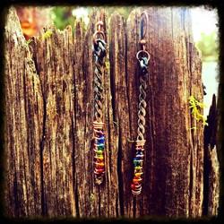 Beads | Steel & Copper | Earrings