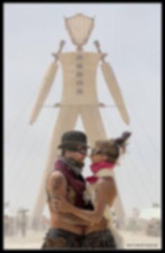 2014 Burning Man Engagment Picture