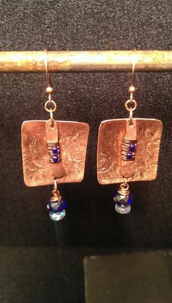 Beads | Copper | Earrings