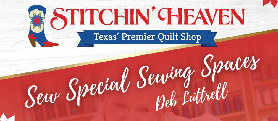 Sew Special Sewing Space: Deb Luttrell