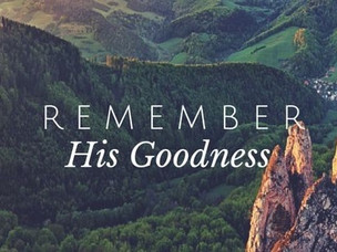 The Abundance Of God's Goodness