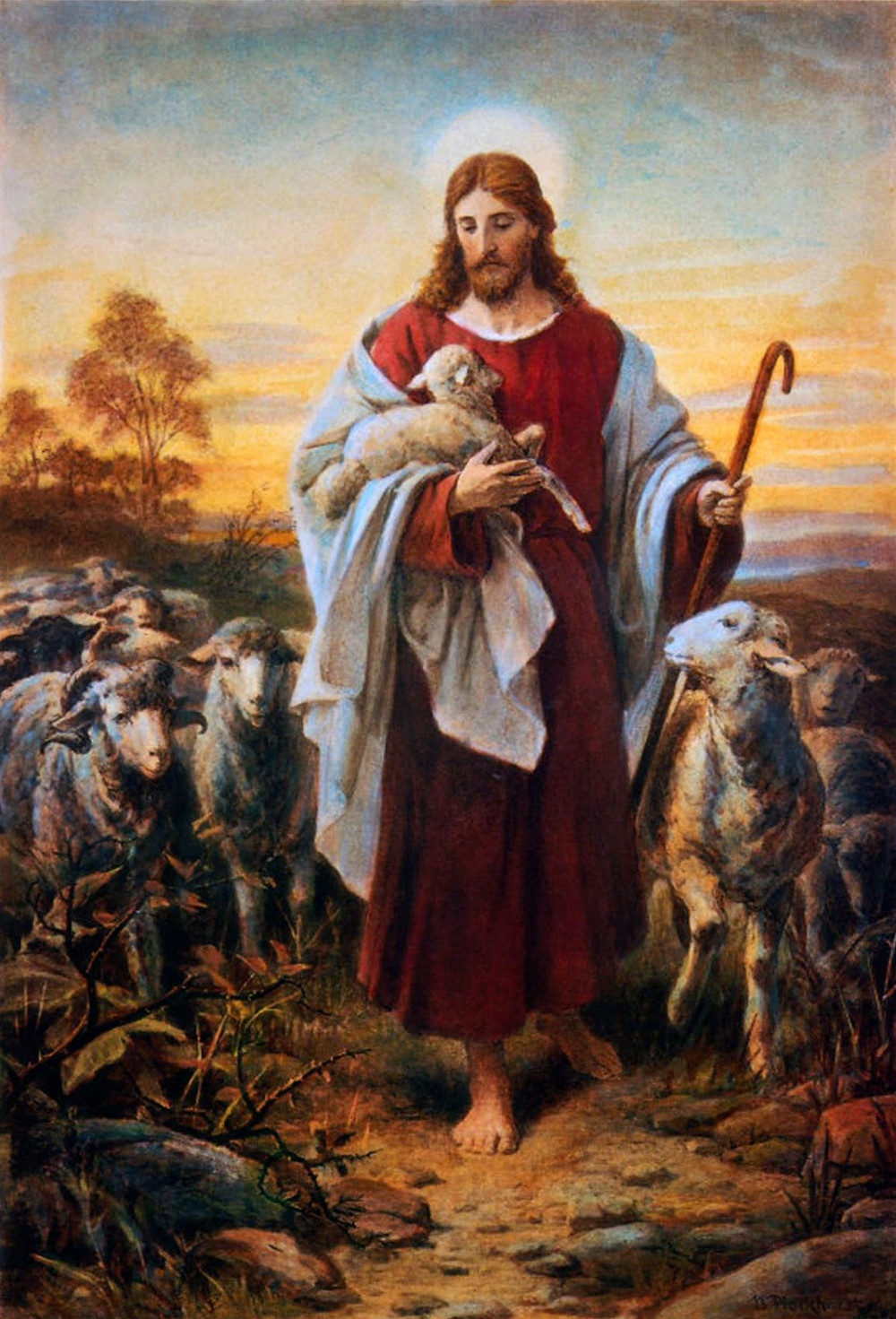 Into This Sheepfold Of Oneness With Our Shepherd