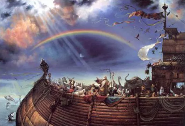 Let Your Ark Rise Above The Earth