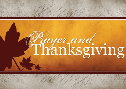 Thanksgiving In Prayer Equals Peace