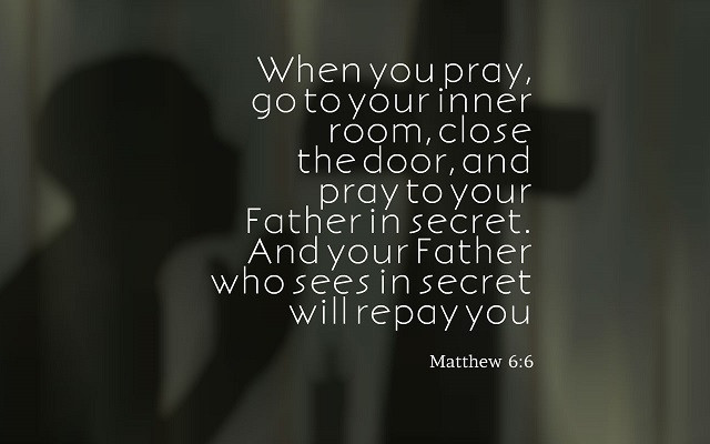 Your Inner Room Is The Room Within You
