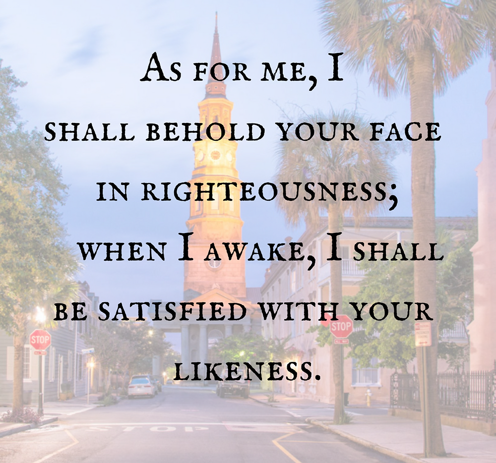As For Me, I Shall Behold Your Face