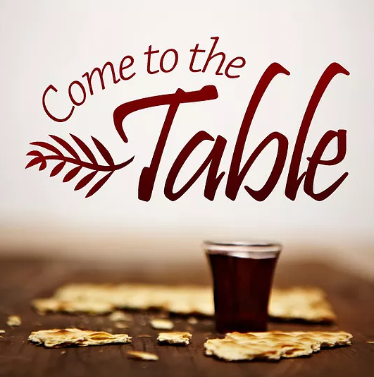 """Come Near To My Table To Minister To Me"""