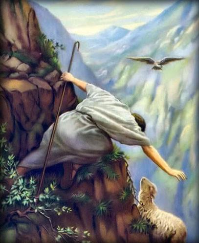 Our Good Shepherd Feeds Us Himself