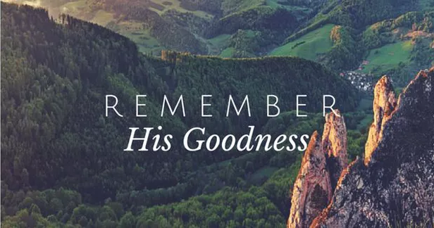 The Abundance Of God's Goodness