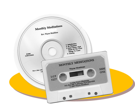 Monthly Meditations Subscription - #MM