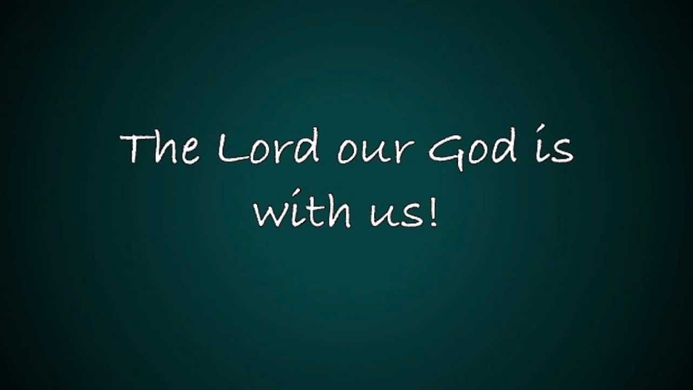 God's Dwelling Place Is With Us