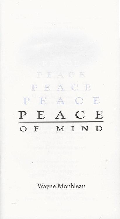 Peace of Mind - #PEACE