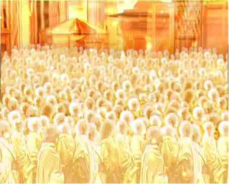 See How The Redeemed Souls In Heaven Immediately Minister To The Lord
