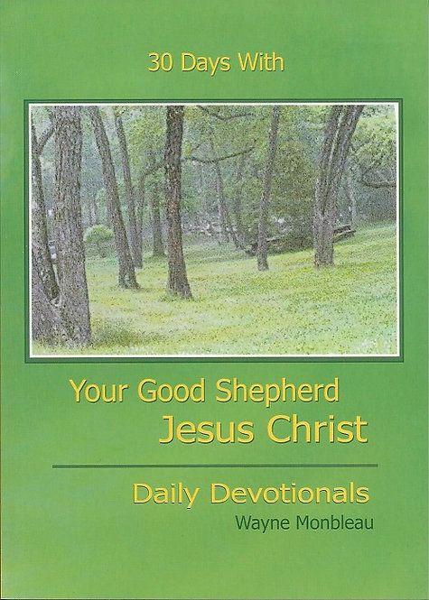 30 Days With Your Good Shepherd Jesus Christ-30DAY