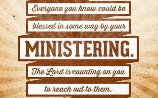 Ministering To The Lord - Our First Ministry