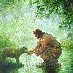 Jesus Our Covenant Shepherd Feeds Us Himself