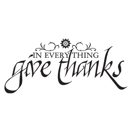 Always Give Thanks Through Jesus Christ To Our Father