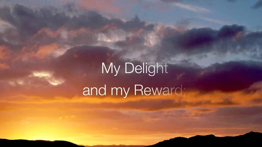 About Being Delighted In The Lord