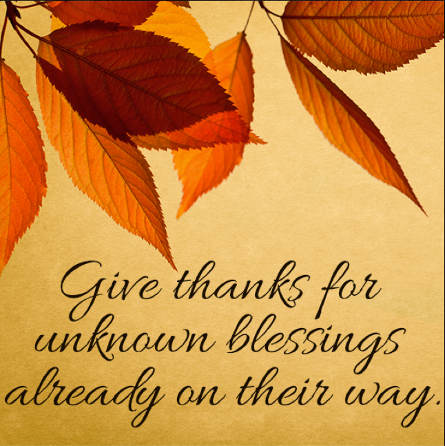 Have A Thanksgiving For God Is Good
