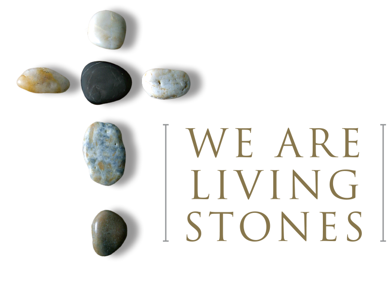 We Are Living Stones In A Spiritual House For A Holy Priesthood