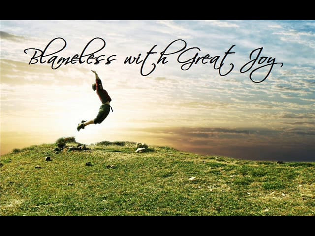 Blameless With Great Joy