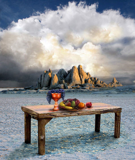 Let God Prepare A Table For You The Table Of His Presence
